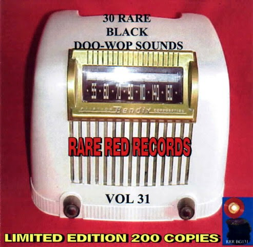 Rare Black Doo-Wop Sounds Vol. 31 - 31 - Front