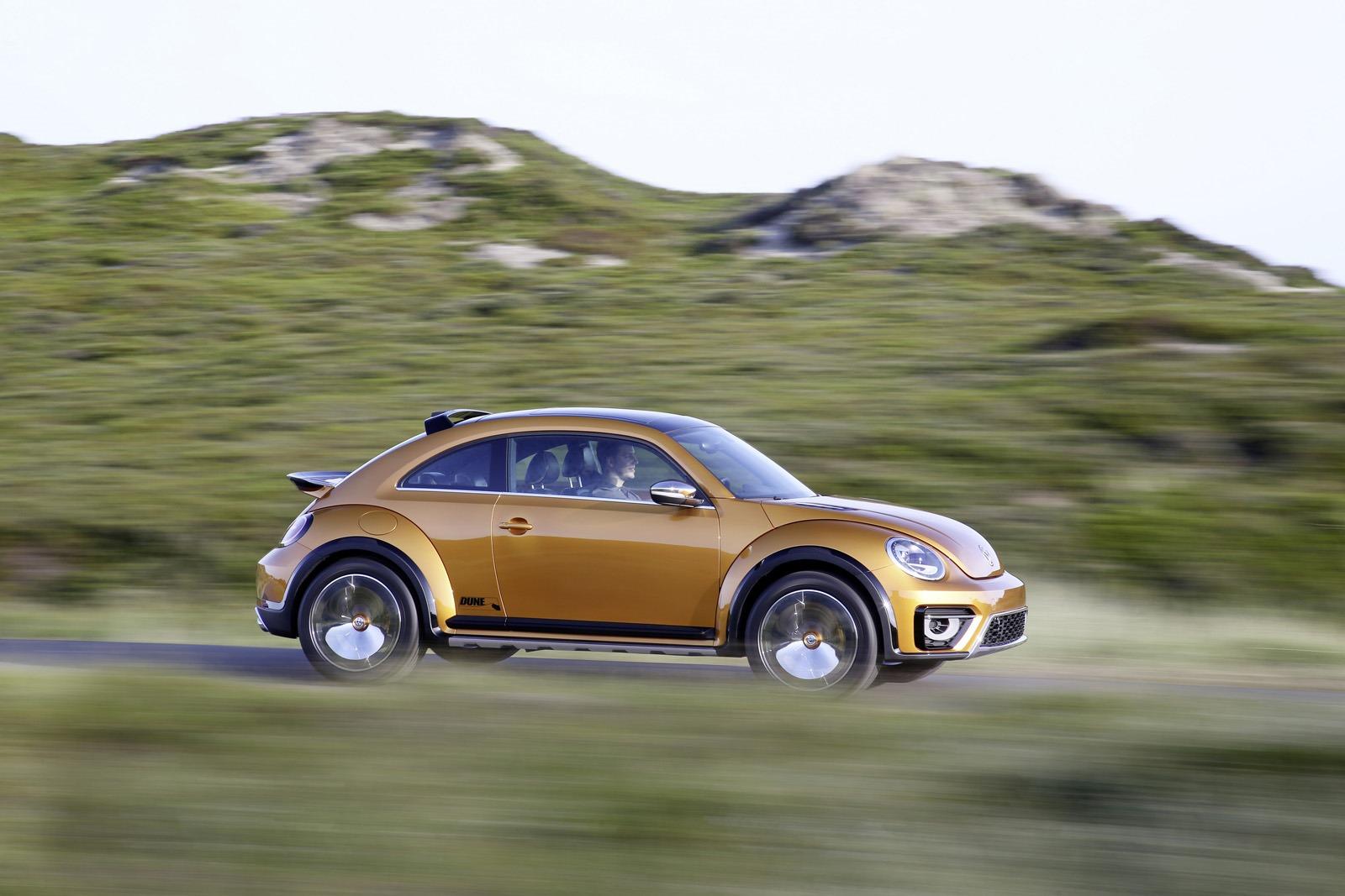 Новый прототип VW Beetle Dune 2014