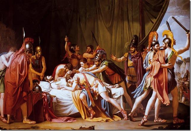 José de  Madrazo - Muerte de Viriato
