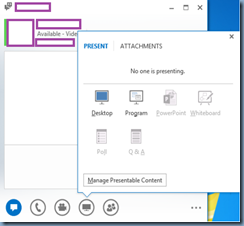 terence luk lync 2013 client has powerpoint whiteboard poll and q