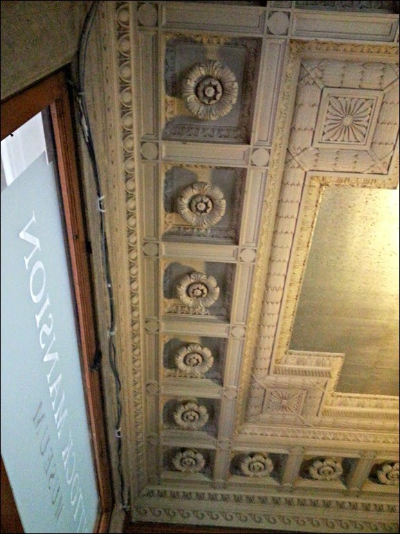 Pittock Mansion Lobby Ceiling
