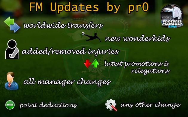 FM14 Updates by pr0