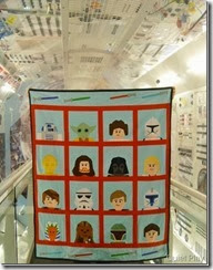 LEGO star Wars quilt