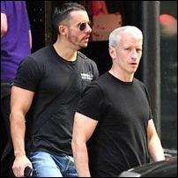 Ben Maisani e Anderson Cooper
