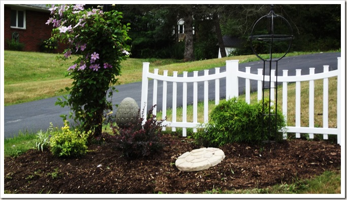 landscaping front fence 007