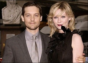 Tobey Maguire and Kirsten Dunst