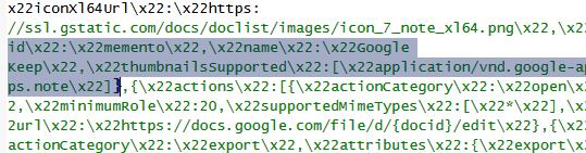 google-keep-code
