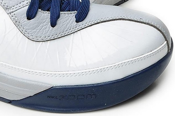 Detailed Look at Nike Soldier 5 in WhiteNavyGrey