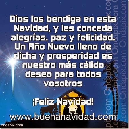 navidad dios nos bendiga