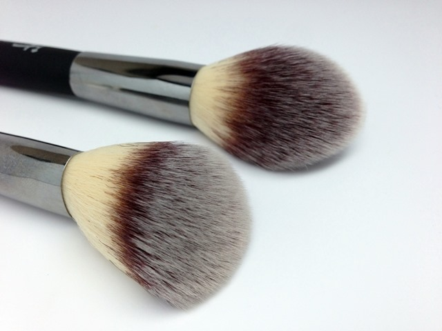 IT Cosmetics Heavenly Luxe Wall Ball Brush and French Boutique Blush Brush