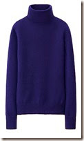 Uniqlo Pure Cashmere Polo Neck Sweater