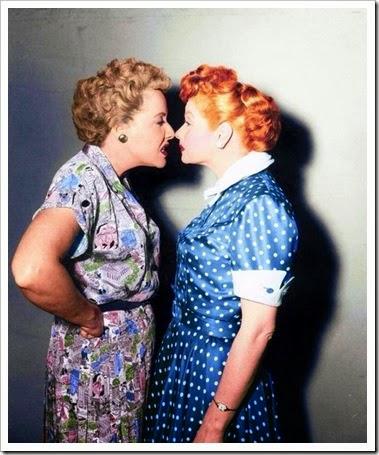 Vivian Vance e Lucille Ball