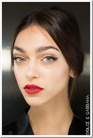 Belleza pasarela otoño invierno 2015 03 Dolce&Gabbana