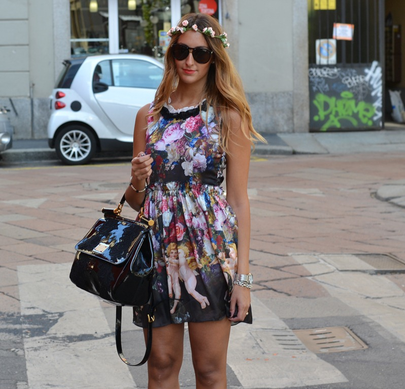 Milano Fashion Week, Milan Fashion Week, Milan, Fashion Week, Streetstyle, Miss Sicily Bag, Dolce &amp; Gabbana Bag, Fashion Blog