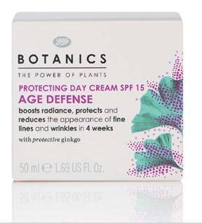 Botanics Age Defense Protecting Day Cream AED 90