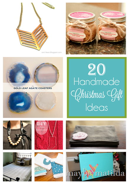 20 Handmade Christmas Gift Ideas