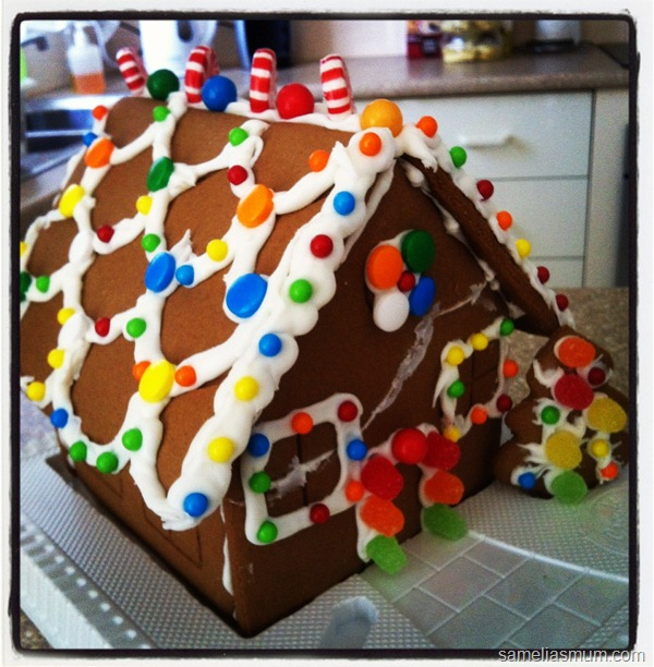 Gingerbread House Kit 3