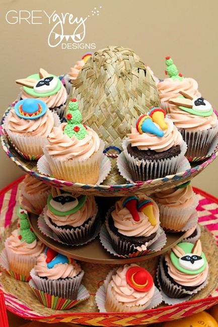 Skippyjon Jones Birthday Party Cupcakes