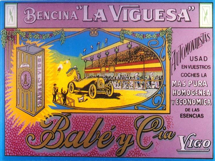 fotografía de un anuncio de la época del pintor vigués Maximiliano Vidales Espinosa. Foto remitida por el Sr. Javier González-Babé Ozores. Nuestro agradecimiento..jpg
