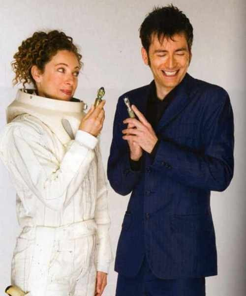 River and The Doctor via kingstonhawes