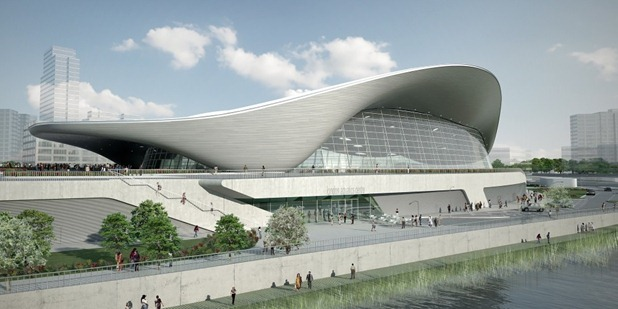 london aquatics centre 2012 by zaha hadid 11