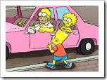 Jogo de estacionar dos Simpsons