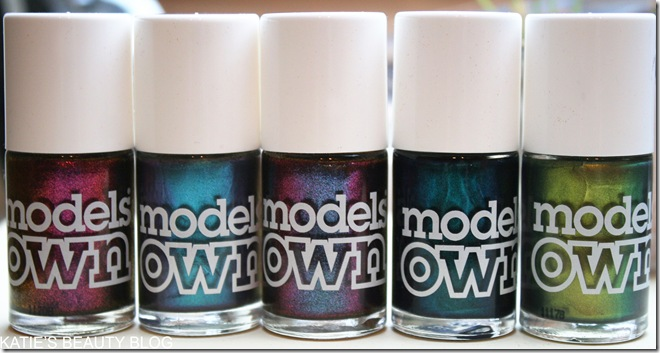 Models Own Beetlejuice Nail Polish Swatches - Katie Snooks