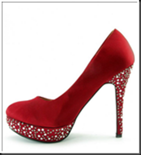 Escarpins strass