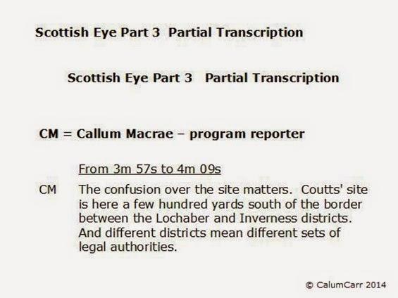 Scottish Eye 3 Partial Transcription 3A