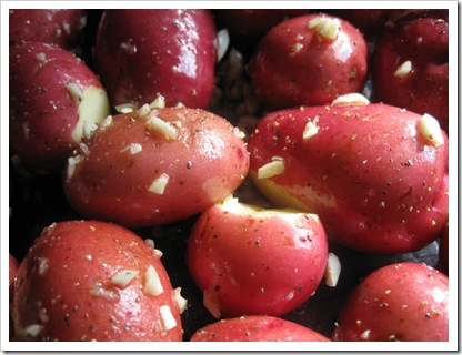 how to cook new red potatoes