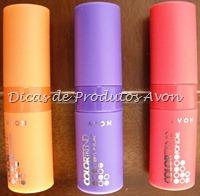 Batons Pop love: embalagens coloridas