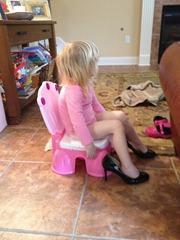 heels- potty