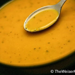 Butternut Squash and Asian Pear Soup