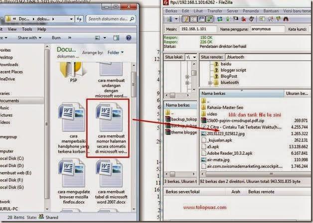 trik copy data dari komputer menggunakan wifi
