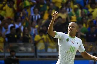 Sofiane Feghouli Avant le match Algérie vs Sénégal