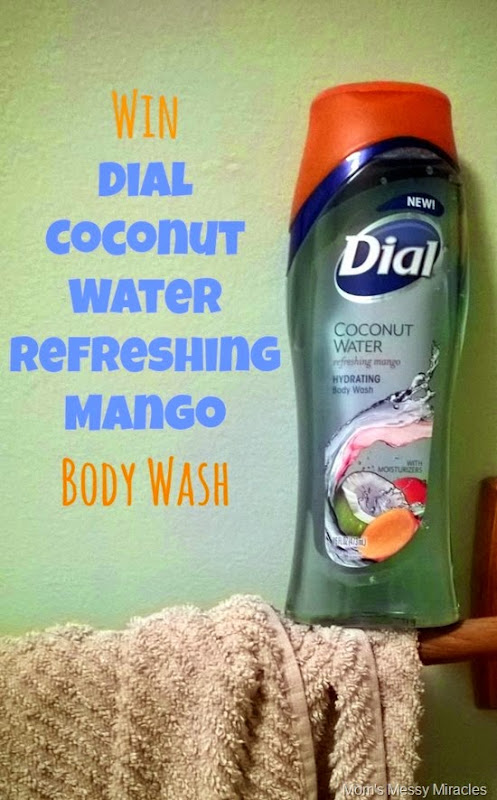 Dial Coconut Water Refreshing Mango Giveaway