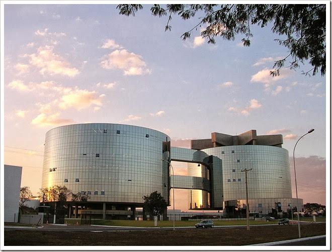 Edifício sede da Procuradoria Geral da República. Vidros reflexivos. 500 colisões de aves por ano.