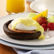 Portabella Eggs Benedict