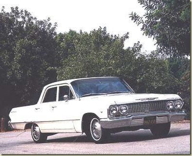 1963_Chevrolet_Bel_Air_4dr_Sedan_f3q