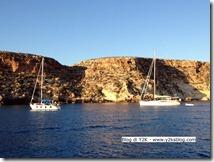 Stella e Y2K al tramonto alla Tabaccara - Lampedusa