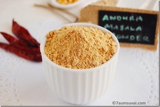 Andhra masala powder pic 4