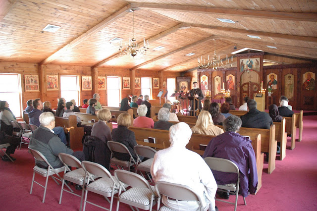 About 50 parishioners and visitors from neighboring parishes attended the sessions.