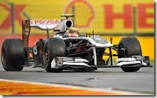 Maldonado penalizzato di 5 posizioni