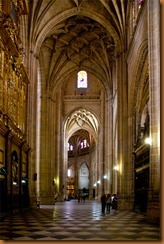 Segovia, cathedral nave