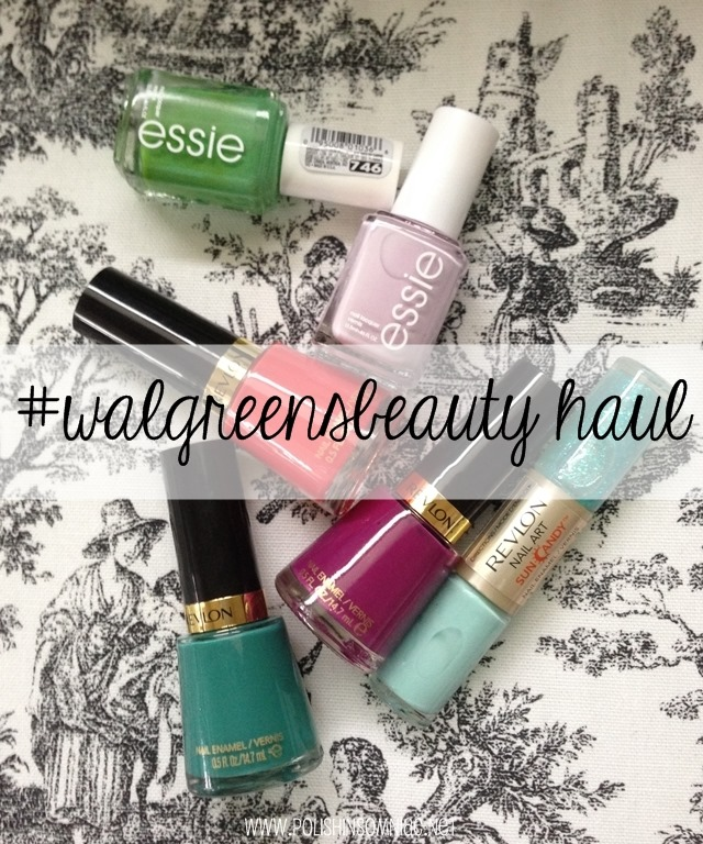 #walgreensbeauty nail polish haul #cbias #shop