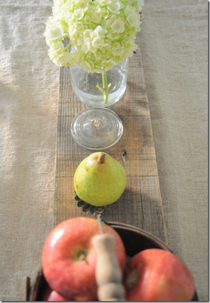 hydrangea in ball jars