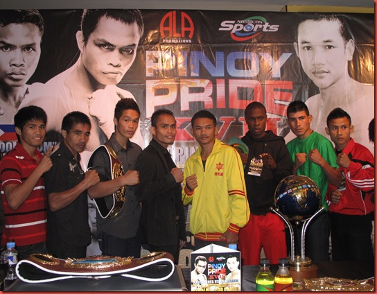 Pinoy Pride XVII Boxers