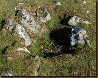 Cámara secundaria - Dolmen de Mediaundi
