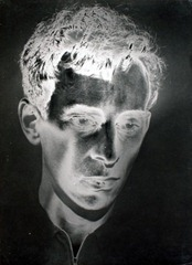 Otto Steinert - Fahles Portrait (Portrait blafard)