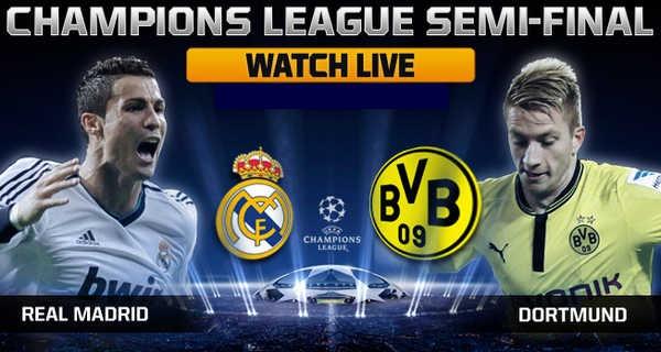 Prediksi Skor Real Madrid vs Dortmund